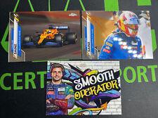 Carlos Sainz 2020 Topps Chrome Formula 1 F1 Lot x3