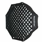 Godox 80cm Foldable Octagon Honeycomb Grid Umbrella Softbox For Flash Speedlite