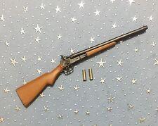 1/6 Cowboy Double Barrel Shotgun with 2 Brass Shells - Western Style