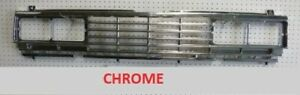 FITS DATSUN NISSAN 720 PICK UP UTE MODEL 1984 85 FRONT GRILLE MASK CHROME NEW