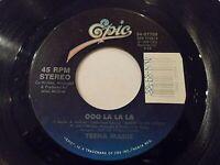 Teena Marie Ooo La La La / Sing One To Your Love 45 1988 Epic Vinyl Record