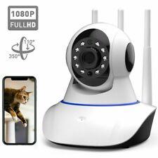 1080P Wireless IP Security Camera Indoor 3 Antennas Smart Home Wifi Baby Monitor