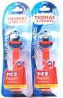 2 Count Thomas  Friends Brush Buddies PEZ Poppin Soft Toothbrushes