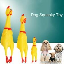Screaming Chicken Dog Toys Squeeze Sound Pet Cat Toy for Small Medium Large Dogs