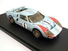 1/43 AMR Shelby Ford GT40 Mk II N 1 Le Mans 66 2nd Ken Miles BBR Bosica GTO