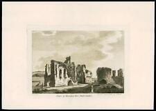1783 Antiguo impresión Priory de Haverford West Pembrokeshire Gales (Q150)