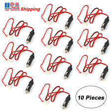 12 V DC Power Cable Cord for Mobile Radio ICOM Kenwood TM-241 YAESU FT-7800R USA