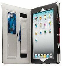 Housse Etui pour tablette Apple iPad 2, 3, 4 simili en cuir Noir - NEUF