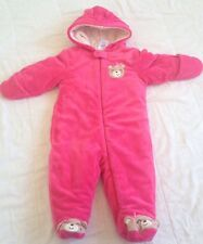 Little Wonders 3-6 Month Girl One Pice Bear Suite Pink
