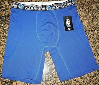 GOLDEN STATE WARRIORS NBA BASKETBALL MENS BOXER BRIEF Sz XL NWT $24.99