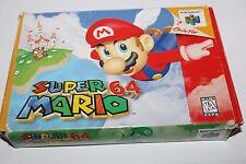Super Mario 64 (Nintendo 64, 1996) Complete, CIB, N64