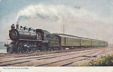 AK The Empire State Express New York Central Railroad Dampflock Zug