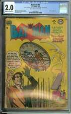 BATMAN #81 CGC 2.0 OW/WH PAGES // TWO-FACE APPEARANCE