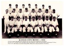 1952 Kansas City Blues AAA Baseball of American Association Team Photo 8 X 10