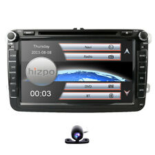 "8"" Car Stereo DVD GPS Navigation Radio VW For 2007-2015 Passat Jetta MK5 +Camera"