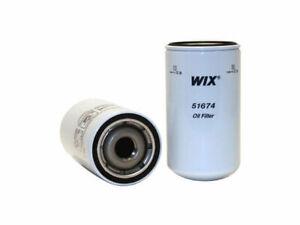 For 2005-2011 Mitsubishi Fuso FK200 Oil Filter WIX 89672DF 2006 2007 2008 2009