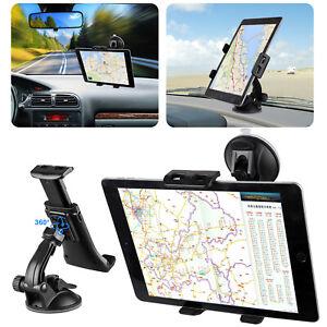 Car Tablet Mount Holder Windshield Dashboard for Universal Phone Tablet iPad GPS