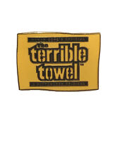 PITTSBURGH STEELERS The Terrible Towel LAPEL PIN Fast Shipping 🚢🚢