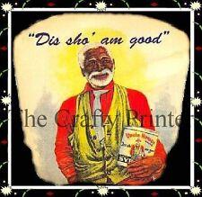 Black Americana Vintage Label Magnet - Uncle Remus Syrup
