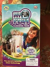 New In Box My Fun Fish Cleaning Fish Tank Clean Water in Dirty Water Out Plastic