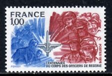 (Ref-11740) France 1976 Centenary of Reserve Officers Corps SG.2140  Mint MNH
