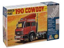 NEW ITALERI MODELS 1/24 IVECO 190.38 COW BOY KIT TRUCK PLASTIC VEHICLES GAMES