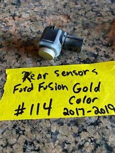 R114 2017 2018 2019 Ford Fusion Bumper GOLD Parking Sensor GT4T-15K859-AAW OEM
