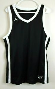 NWT Jordan by Nike Dri-Fit Men's Basketball Tank Top - Size LARGE - Black
