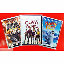 DVD Display Post and Store. New Protective Covers Sleeve Clear Wraps Size1 x 10