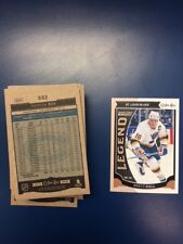 2015-16  OPC MARQUEE LEGENDS CARDS -LOT -YOU  PICK 1 TO COMPLETE SET