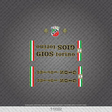 01162 Gios Bicycle Stickers - Decals - Transfers