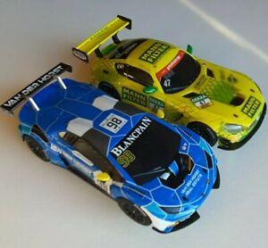 Carrera Go!!! 1:43 Mercedes AMG GT3 und Lamborghini Huracan GT3 Slotcar Bahn NEU