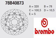 Coppia Dischi Freno BREMBO Serie Oro  Triumph 955 DAYTONA T955I 02 > 06