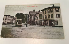 "POSTED UNDIVIDED BK POSTCARD W.M. PRILAY PITTSFIELD MAINE ""SQUARE OAKLAND MAINE"""