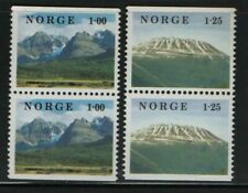 Norway Stamps 1978 Sg 815-816 Norwegian Nature Unmounted Mint Mnh
