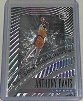 2019-20 Panini Illusions Anthony Davis Season Highlights Insert FOIL Lakers #2