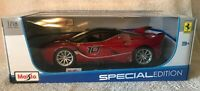 Maisto Special Edition Ferrari FXX K Red/Black 1:18 Brand New NIB! VHTF!