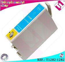 INCHIOSTRO CIANO T1282 1282 COMPATIBILE PER STAMPANTI ICT EPSON CARTUCCIA CIANO
