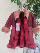 BEAUTIFUL JUNIOR OR CHILD SIZE FRENCH LAMB COAT / JACKET - MUST SEE!