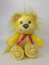 Vintage 80s Hallmark 1989 Kenner Yum Yums Lucky Lemon Lion Yellow Plush Toy
