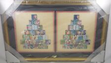 Disney D23 Expo 2015 Alphabet Mystery Set 52 Pin Framed Limited Edition LE 10