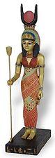 Isis Egyptian Mother Goddess Standing Sculpture 9.25H E-317GP