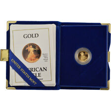 1990-P American Gold Eagle Proof (1/10 oz) $5 in OGP