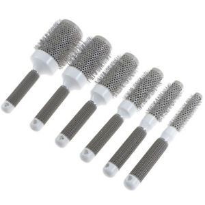 Professional Thermal Ceramic & Ionic Round Barrel Hair Brush Boar Bristle.dr