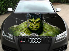 Hulk Full Color Sticker Car Hood Vinyl, Car Vinyl Graphics Decal Wrap MH90