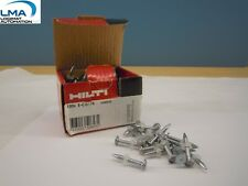 100 X HILTI X-C 27P8 CONCRETE NAILS #388535  ***NEW