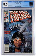 Marvel New Mutants Comic #18 CGC 8.5 1984 Newsstand 1st App Warlock Demon Bear