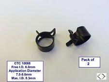 Banda Abrazadera de tensión constante-CTC 10068 X 2 7.5-8.0mm diámetro de la aplicación.