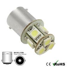 1 x 6v White BA15s 8 SMD 5050 LED Side Interior Light Bulbs GLB 205 6 VOLT