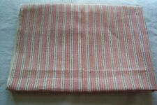 Vtg Antique 1800's Woven Cotton Fabric Quilt Dress Shirt Sewing Stripes